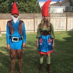 Female gnome costume